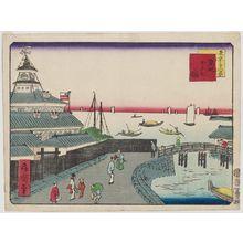 Kobayashi Shosai: Tsukiji Hotel (Tsukiji hoteru kan), from the series Thirty-Six Views of Tokyo (Tôkyô sanjûrokkei) - ボストン美術館