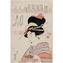 Utagawa Toyoharu: The Beauty Chiyoharu (Bijin Chiyoharu) - Museum of Fine Arts