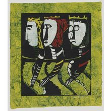 Watanabe Sadao: Three Wise Men - Museum of Fine Arts