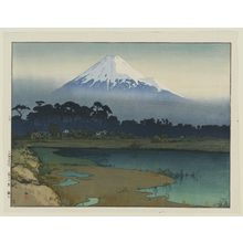 Yoshida Hiroshi: Sunrise (Asahi), from the series Ten Views of Mount Fuji (Fuji jukkei) - Museum of Fine Arts