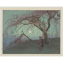 Yoshida Hiroshi: Kumoi Cherry Trees - Museum of Fine Arts