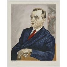 Sekino Jun'ichiro: Portrait of Mr. Fritz W. Bilfinger - Museum of Fine Arts