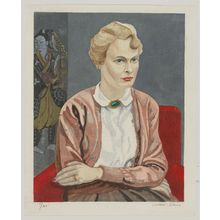 Sekino Jun'ichiro: Portrait of Mrs. Fritz W. Bilfinger - Museum of Fine Arts