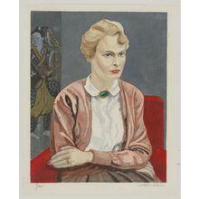 関野準一郎: Portrait of Mrs. Fritz W. Bilfinger - ボストン美術館