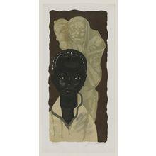 Sekino Jun'ichiro: Portrait of Negro - Museum of Fine Arts