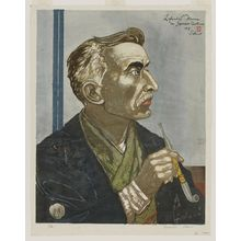 Sekino Jun'ichiro: Lafcadio Hearn in Japanese Costume - Museum of Fine Arts