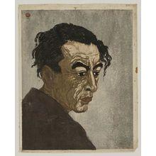 Onchi Koshiro: Portrait of the Poet, Hagiwara Sakutaro - Museum of Fine Arts