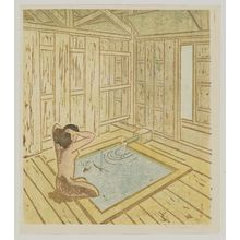 Maekawa Senpan: Hot spring - Museum of Fine Arts