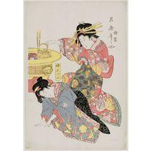喜多川月麿: Imôto Shinobu - ボストン美術館
