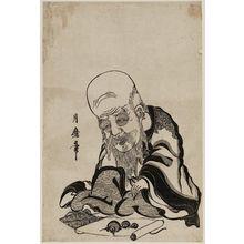 喜多川月麿: Fukurokuju - ボストン美術館