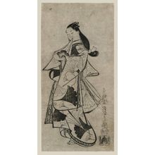 Kaigetsudo Anchi: Courtesan with a Cloth Wrapper - Museum of Fine Arts