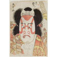勝川春亭: Actor Nakamura Utaemon as Tadanobu - ボストン美術館