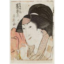 勝川春亭: Actor Iwai Hanshirô - ボストン美術館