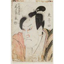 勝川春亭: Actor Onoe Eizaburô - ボストン美術館