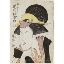 Katsukawa Shuntei: Actor Segawa Senjo as Oyumi - Museum of Fine Arts