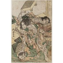勝川春亭: Satô Tadanobu - ボストン美術館