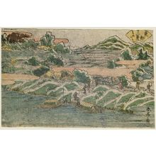 勝川春亭: Mimeguri, from the series Twelve Views of the Eastern Capital (Tôto jûni kei) - ボストン美術館