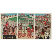 Watanabe Nobukazu: Illustration of Emperor's Triumphant Return - Museum of Fine Arts