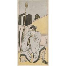 勝川春扇: Actor Ichikawa Monnosuke - ボストン美術館