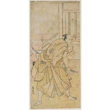 勝川春扇: Actor Ichikawa Komazô - ボストン美術館
