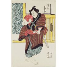 Utagawa Kuninao: Actor - Museum of Fine Arts