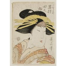 Kikugawa Eizan: Actor Sawamura Tanosuke as Komurasaki - Museum of Fine Arts