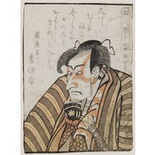 Utagawa Kunimasa: Actor Ichikawa Danjûrô VI, from the book Yakusha gakuya tsû (Actors in Their Dressing Rooms) - Museum of Fine Arts
