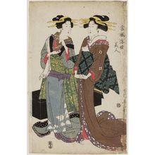 Kikugawa Eizan: Tôfû ukiyo bijin - Museum of Fine Arts