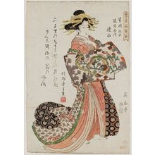 Kikugawa Eizan: Renzan of the Echizenya in Maruyama, Nagasaki, from the series Comparisons of Representative Customs (Tatoegusa fûzoku awase) - Museum of Fine Arts