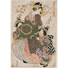 Kikugawa Eizan: Seirô bijin hana dôchû - Museum of Fine Arts