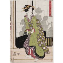 Kikugawa Eizan: An Array of Fashionable Beauties (Fûryû bijin soroe) - Museum of Fine Arts