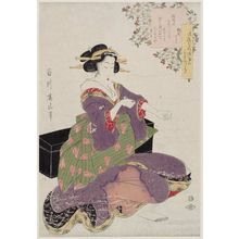 Kikugawa Eizan: Fûryû kitsune ken, sanmai tsuzuki - Museum of Fine Arts