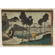 歌川国貞: No. 5 (Daigo), from the series Record of the Valiant and Loyal Retainers (Chûyû gijin roku) - ボストン美術館