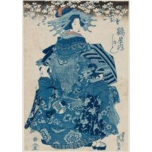 Keisai Eisen: Kashiku of the Tsuruya - Museum of Fine Arts