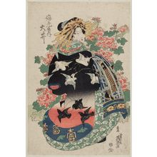 Keisai Eisen: Ôi of the Ebiya - Museum of Fine Arts