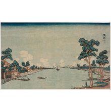 柳々居辰斎: The Sumida River (Sumidagawa) - ボストン美術館