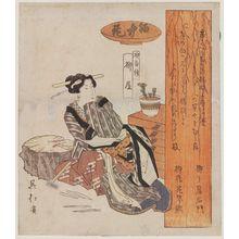 Totoya Hokkei: Yanagiya Cosmetic Shop - Museum of Fine Arts