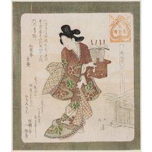 Totoya Hokkei: A Good Time to ? (Iori yoshi), from the series Series for the Hanazono Group (Hanazono bantsuzuki) - Museum of Fine Arts