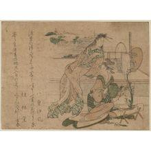 Teisai Hokuba: Surimono - Museum of Fine Arts