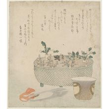 Teisai Hokuba: The Seven Herbs - Museum of Fine Arts