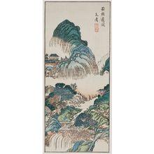 Bunsei: Shoku Sendo (no) Zu - ボストン美術館