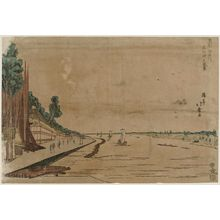 昇亭北壽: Scenery of Massaki on the Sumida River (Sumidagawa Massaki no fûkei) - ボストン美術館