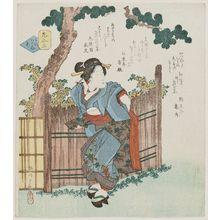 Yanagawa Shigenobu: Hana awase - Museum of Fine Arts