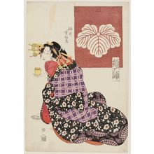 Yanagawa Shigenobu: Sugaura of the Tsutaya - Museum of Fine Arts