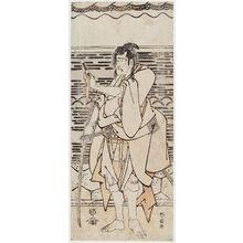 Katsushika Hokusai: Actor Ichikawa Komazô II as Shirai Gonpachi - Museum of Fine Arts