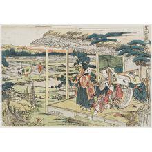葛飾北斎: Act VI (Rokudanme), from the series The Storehouse of Loyal Retainers, a Primer (Kanadehon Chûshingura) - ボストン美術館