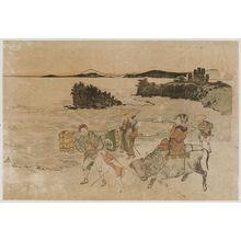 Katsushika Hokusai: Enoshima - Museum of Fine Arts