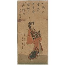 Katsushika Taito II: Courtesan - ボストン美術館