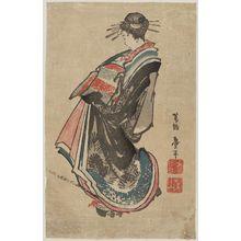 Katsushika Taito II: Courtesan on Parade - ボストン美術館