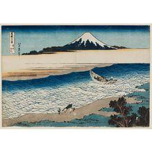 from the series Thirty-six Views of Mount Fuji The Jewel River in Musashi Province Fugaku sanj\u00fbrokkei Hokusai Bush\u00fb Tamagawa